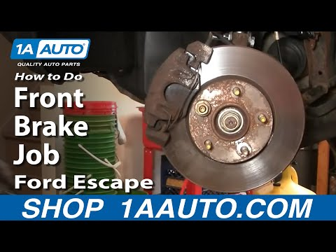 How To Do a Front Brake Job Ford Escape Mercury Mariner 1AAuto.com