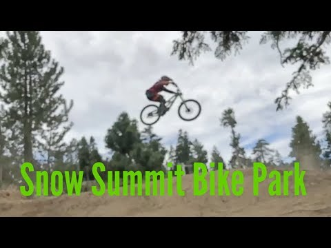 Relieving Stress at Snow Summit Bike Park after my restaurant was broken into. June 15, 2018