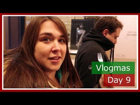 Vlogmas 2017 Day 9 | Grumpy Zoe a burrito and Burger King | The British Life