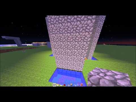 How to build an infinitely regenerating cobblestone wall!