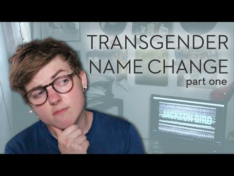 HOW I CHOSE MY FIRST NAME // Trans Storytime