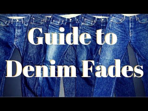 Guide to Denim Fades