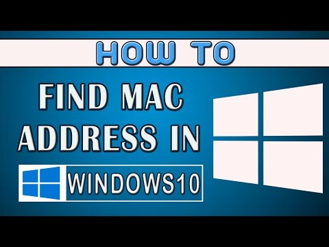 How to find Mac(physical) address in windows 10 || 2017.