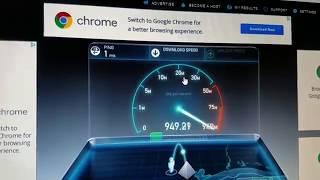 Gigabit Internet Speed Test