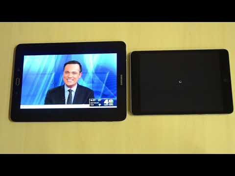 Cordcutter TV: watch on an iPad and Android tablet at the same time