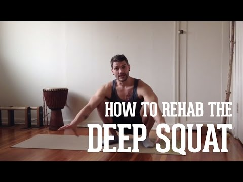 How to Rehab the Deep Squat with step by step progressions