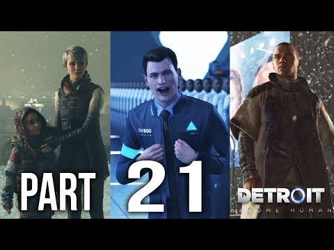 DETROIT BECOME HUMAN Part 21 | Battle For Detroit | Gameplay Walkthrough