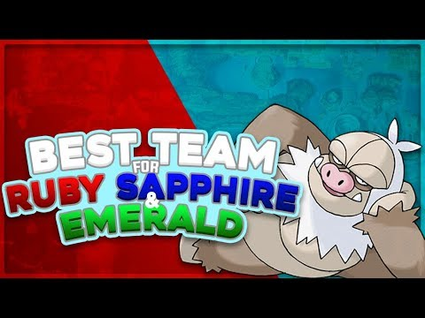 Best Team for Hoenn (Ruby, Sapphire, and Emerald)
