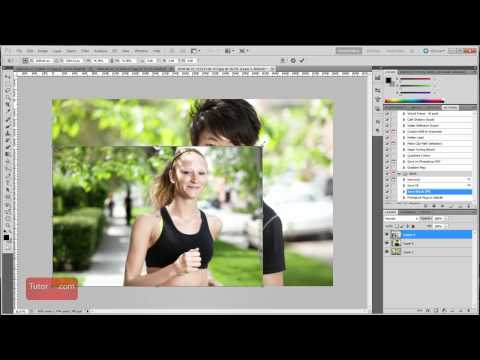 Photoshop Tutorial - How to Resize a Layer [60 Seconds]