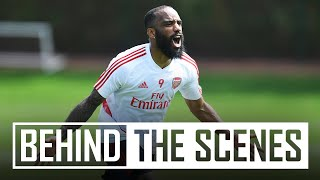 We're back! Arsenal squad resumes socially-distanced training | Behind the scenes