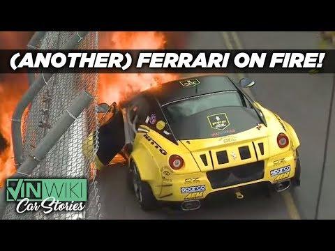 My Ferrari Drift Car caught on fire!