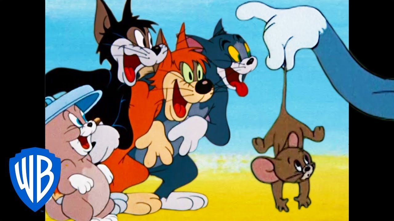 Tom & Jerry   What a Cat-astrophe!    Classic Cartoon Compilation   WB Kids
