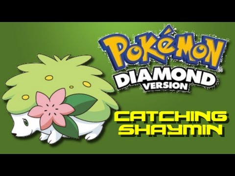 Pokemon Diamond: How to Catch Shaymin (Using Action Replay)