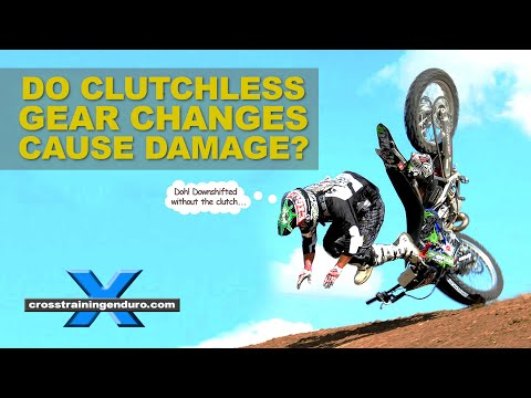 SHOULD I USE THE CLUTCH TO CHANGE GEARS? Cross Training Enduro Skills