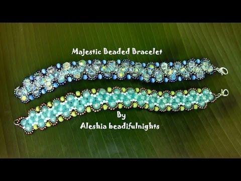 Majestic Beaded Bracelet Tutorial