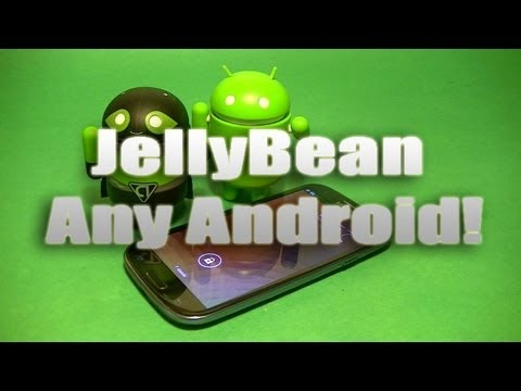 How to get Jellybean Features on any Android Device for Free! No Root Needed!