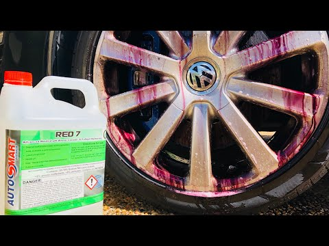 The BEST Wheel Cleaner? Tested - Red 7