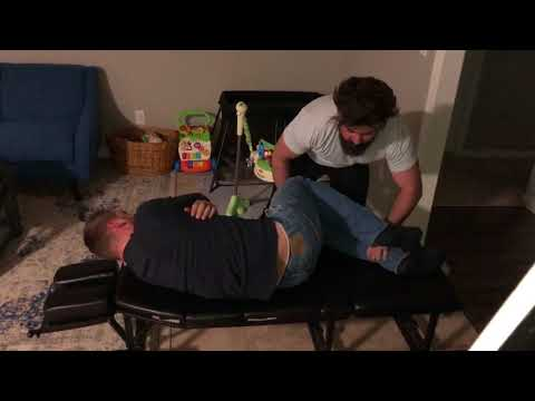 Scoliosis patient has LOUD pops and cracks during CHIROPRACTIC ADJUSTMENT