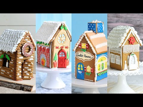AMAZING GINGERBREAD HOUSES for CHRISTMAS by HANIELA'S