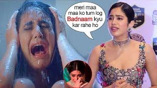 Jhanvi Kapoor Gets Upset & Leaves When Asked About Priya Prakash Varrier