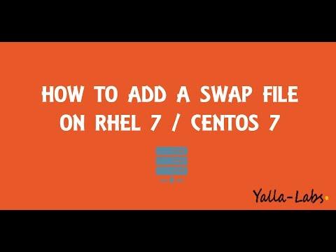 How to create a SWAP File on CentOS 7 / RHEL 7