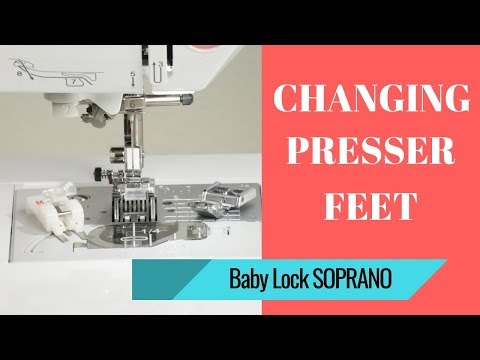 Sewing with Baby Lock SOPRANO  - Episode #7