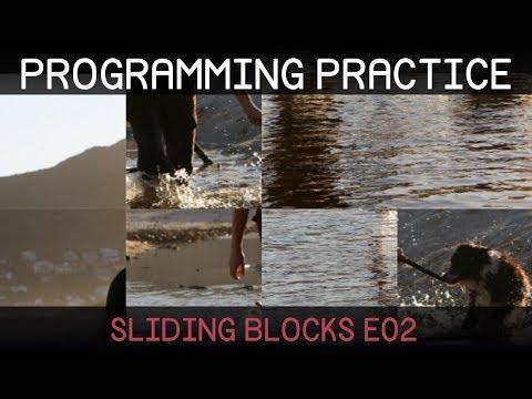 [Unity] Programming Practice: Sliding Blocks 2/2