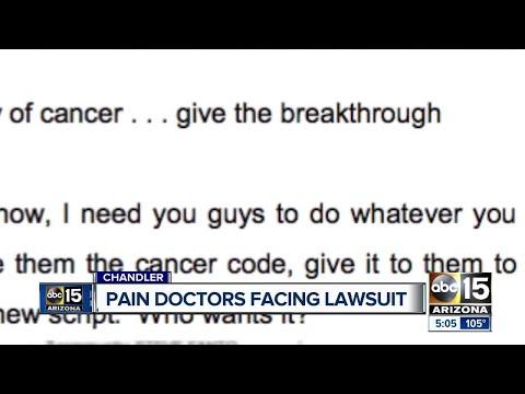 Three Arizona doctors, one company named in lawsuit over prescription opioids