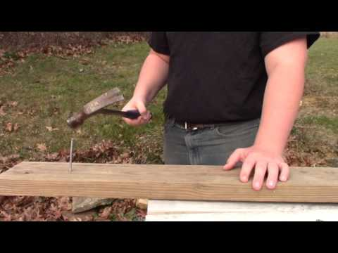 How To Hammer Like a Homesteader