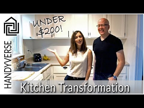 How to Paint Your Kitchen Cabinets - Rustoleum Cabinet Transformations : Budget Renos #02