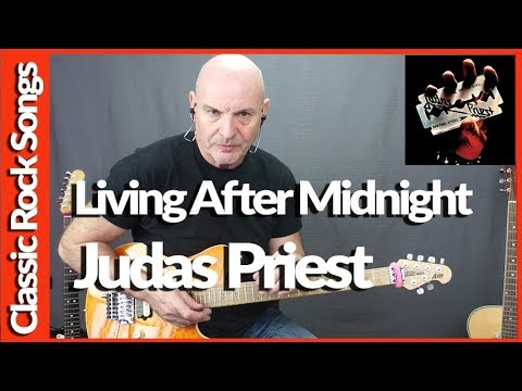 Living After Midnight By Judas Priest - Guitar Lesson Tutorial