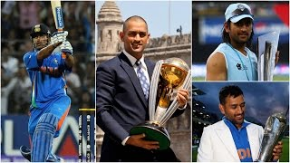 In the history of Indian Cricket, MS Dhoni has got a page all to himself