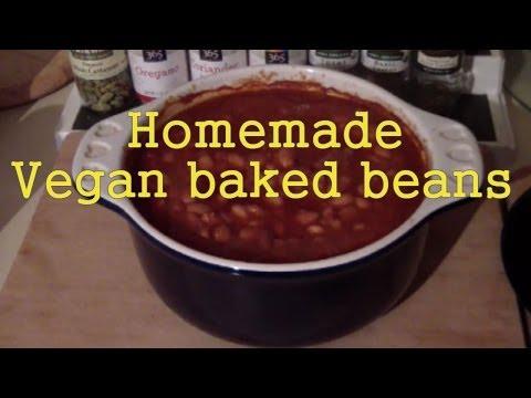 Homemade baked beans (VEGAN)