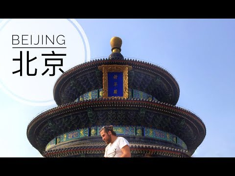 Beijing, China I Jingshan Park,Beihai Park,Temple of Heaven,Forbidden City,Great Wall of China