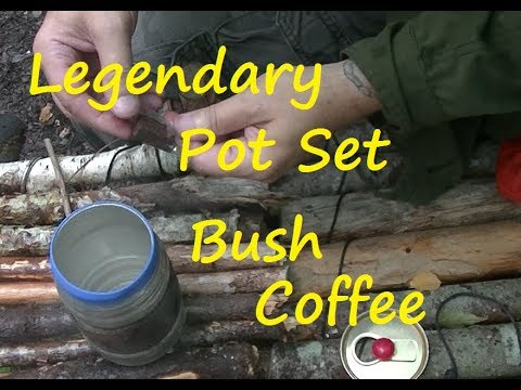 Legendary Pot Set , Bush Coffee