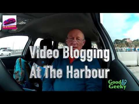 EV20Q at the Harbour - Nissan Leaf Saga
