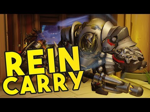 OVERWATCH: Solo Reinhardt Carries with JV!!