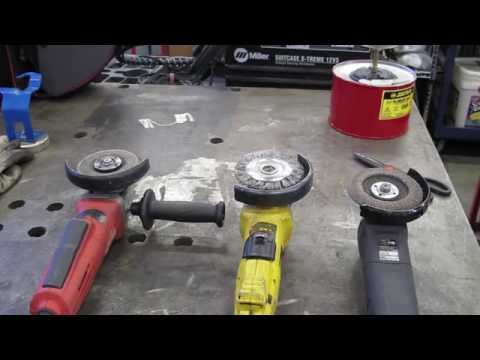 How to Use an Angle Grinder
