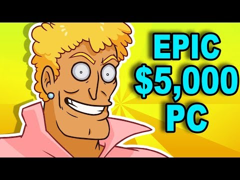 YO MAMA's $5,000 PC - How to Animate Brody