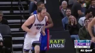 Kosta Koufos Highlights vs Detroit Pistons - 12 pts. - 8 rebounds - 11.01.2017