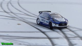 RC Rally Car Kyosho DRX VE Ice & Snow Drift donuts