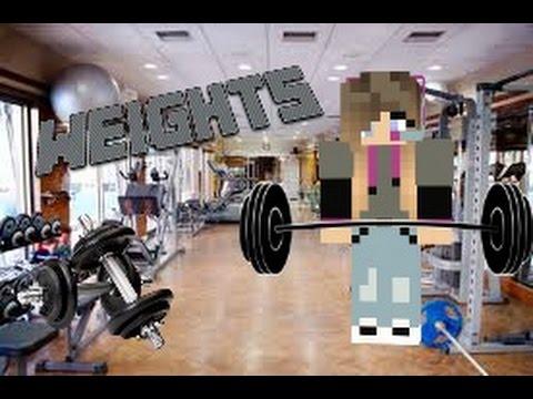 How to make weights  |MINECRAFT