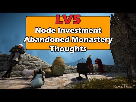 Mark of Shadow Farm - Level 5 Node Investment Thoughts - Black Desert Online SEA
