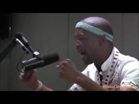 Sivuyile Mdyogolo, Xhosa Poet on SABC Channel Africa