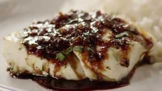 Fish Recipes How To Make Asian Inspired Halibut