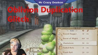 Oblivion How To Do The Duplication Glitch