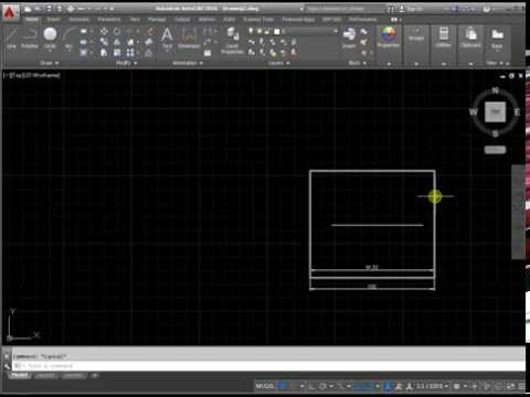 How to increase the size in AutoCAD