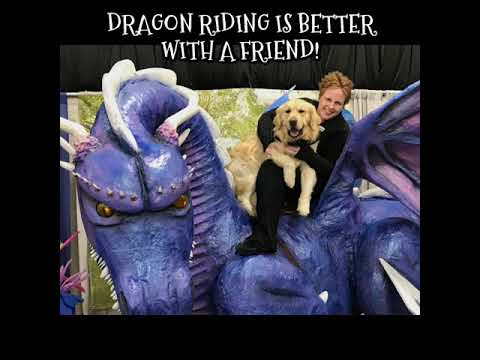 Dragon riding is better with a friend!