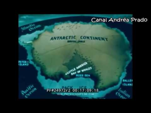 Terra Secreta na Antártica 2ª parte( Almirante Bird encontra a Terra Secreta)