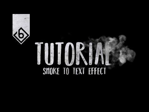 How To Create Smoke Text Effect - Sony Vegas Tutorial